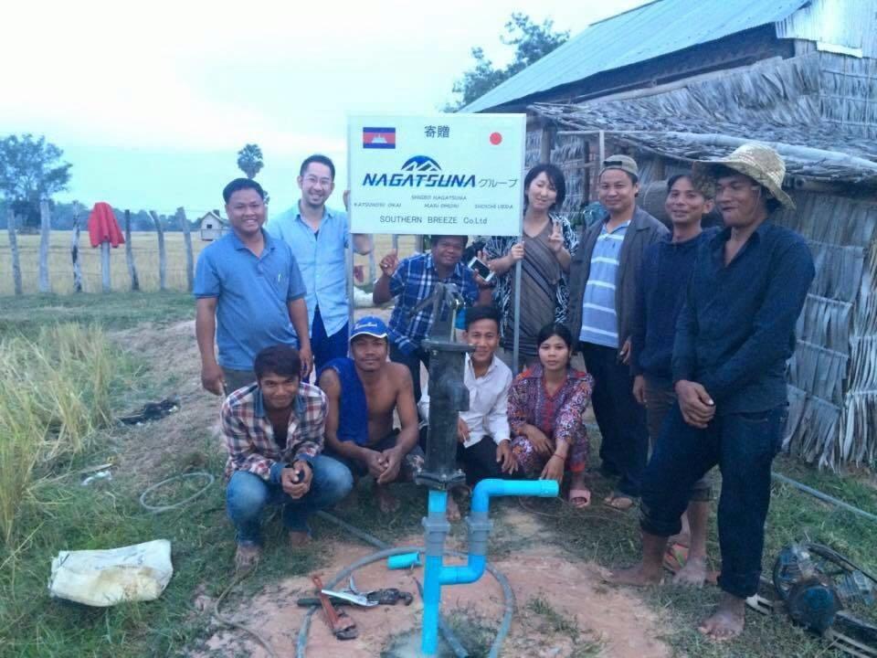 社会貢献事業,カンボジア